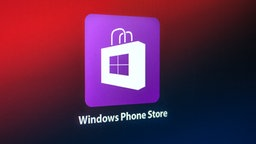 Logo vom Windows Phone Store auf Fond. © NDR