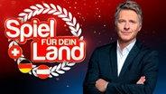 """Jörg Pilawa moderiert die Quizshow """"Spiel für dein Land"""". © ARD Fotograf: Thomas Leidig"""
